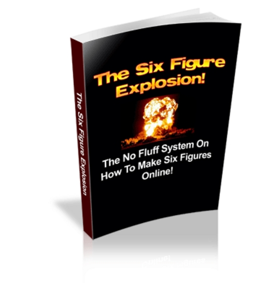 Product picture Six Figure Explosion