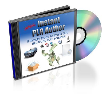Product picture Instant PLR Author